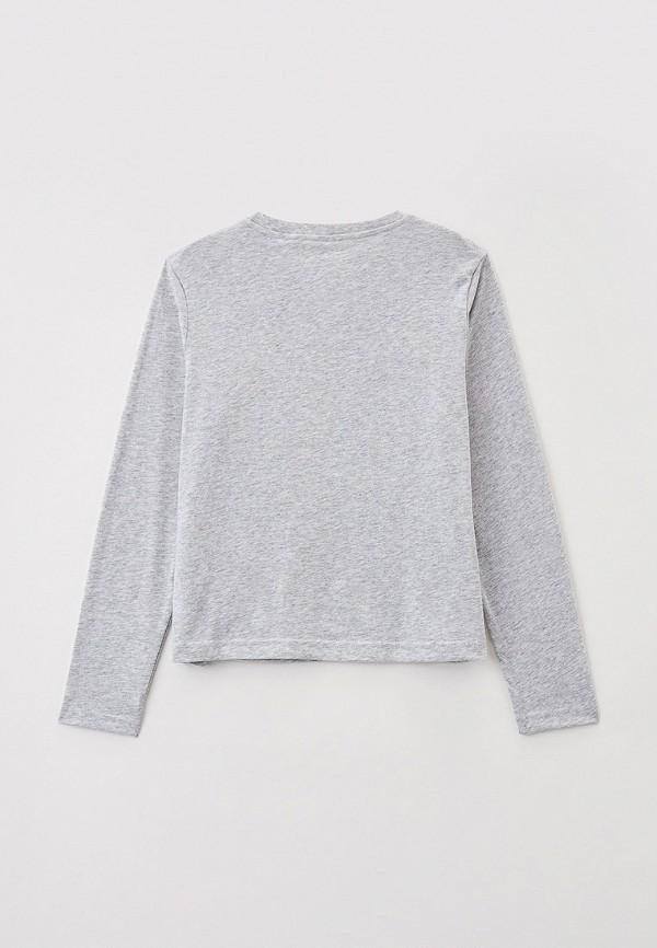 Лонгслив для девочки Converse цвет серый  Фото 2