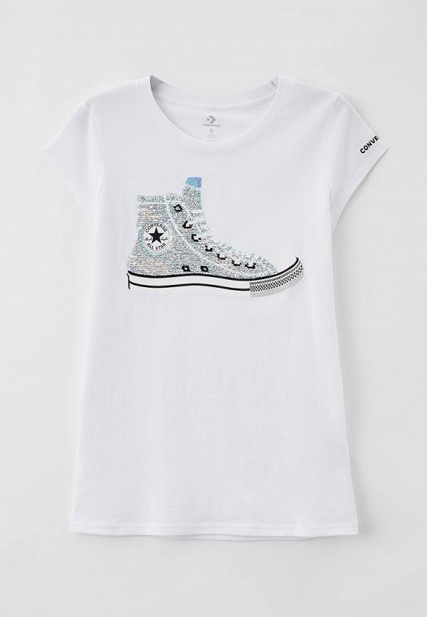 Футболка Converse цвет белый