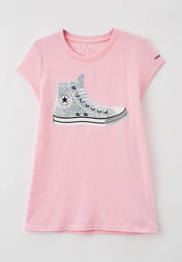 Футболка Converse цвет розовый