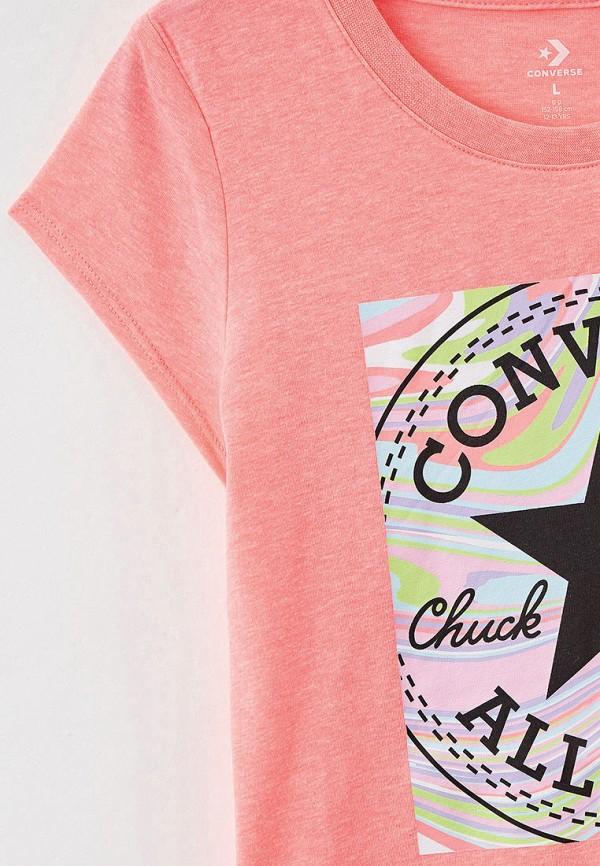 Футболка Converse цвет розовый  Фото 3