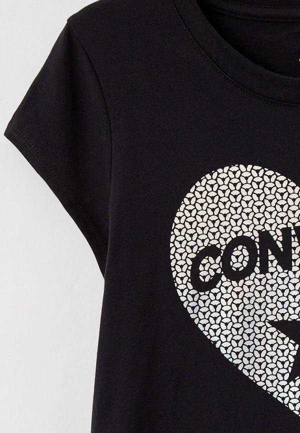 Футболка Converse цвет черный  Фото 3