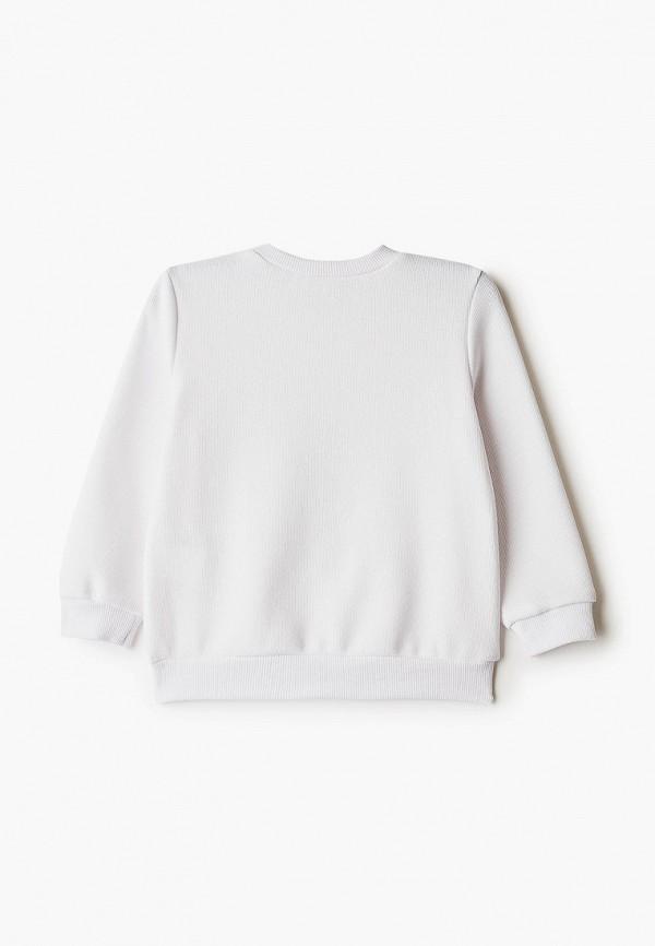 Лонгслив для девочки DeFacto цвет белый  Фото 2