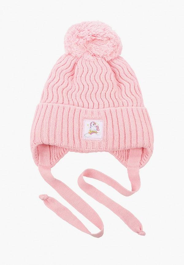 Шапка детская Prikinder цвет розовый