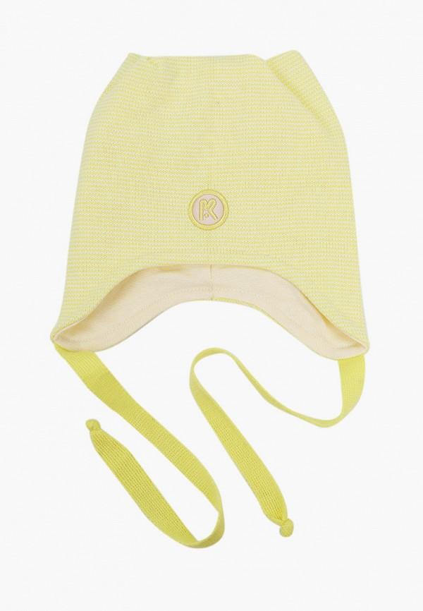 Шапка детская Prikinder цвет желтый