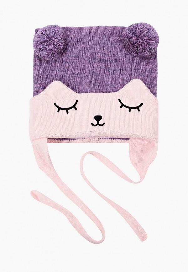 Шапка детская Prikinder цвет фиолетовый