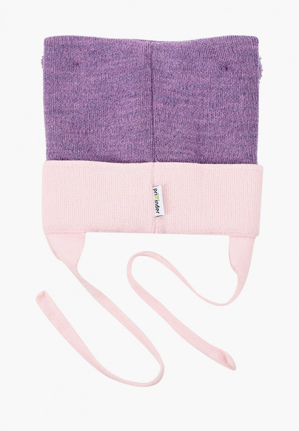 Шапка детская Prikinder цвет фиолетовый  Фото 2