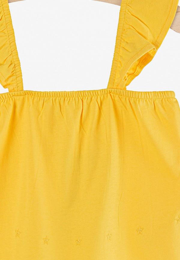 Топ для девочки 5.10.15 цвет желтый  Фото 3