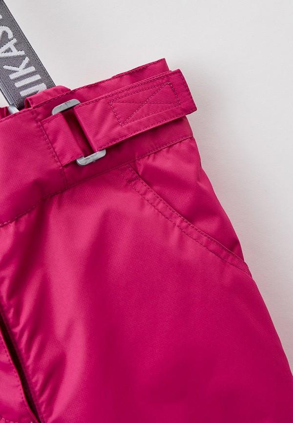 Брюки для девочки утепленные Nikastyle цвет розовый  Фото 3