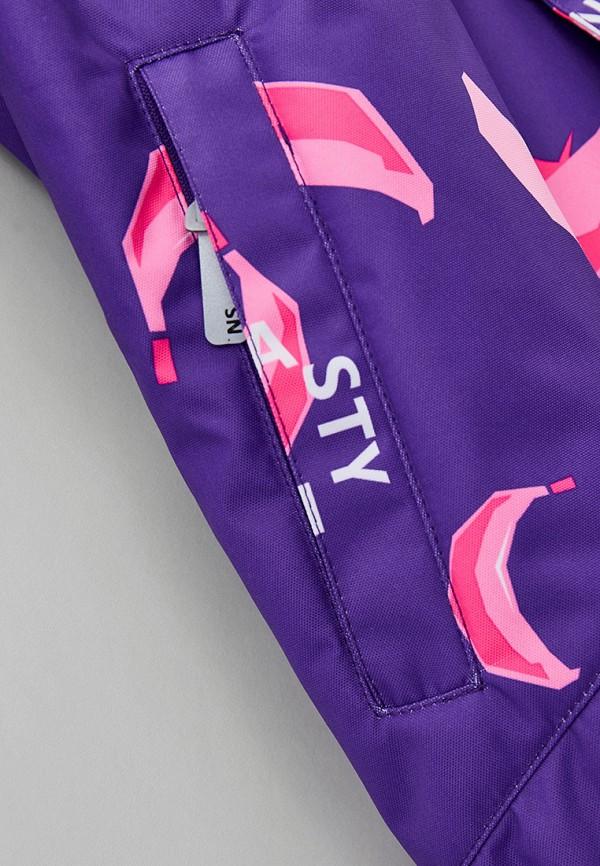 Детский комбинезон утепленный Nikastyle цвет фиолетовый  Фото 3