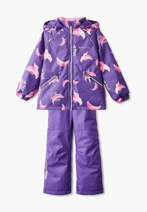 Костюм утепленный Nikastyle цвет фиолетовый