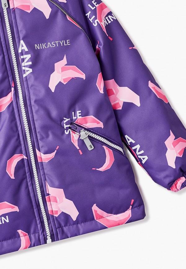 Костюм утепленный Nikastyle цвет фиолетовый  Фото 3