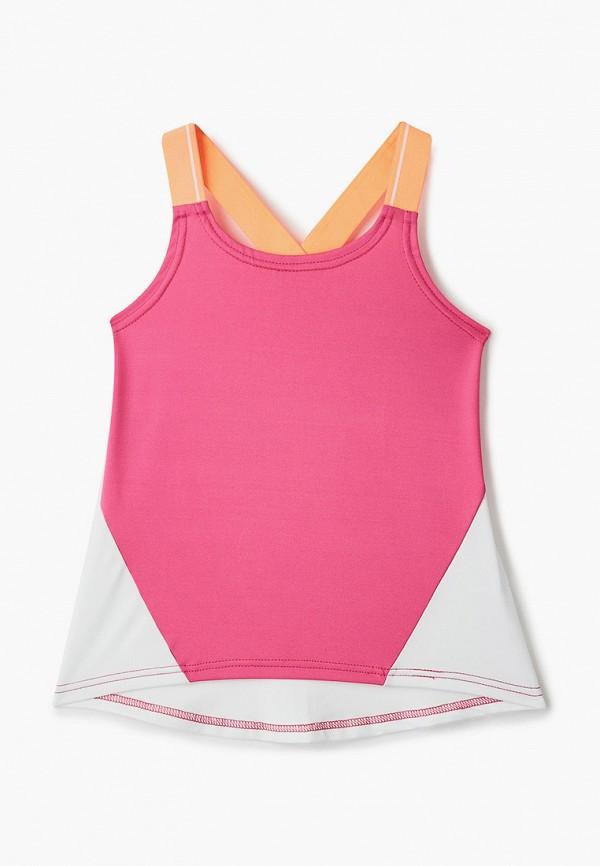 спортивные майка emdi для девочки, розовая
