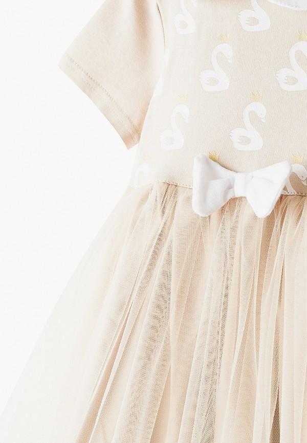 Платья для девочки Trendyco Kids цвет бежевый  Фото 3