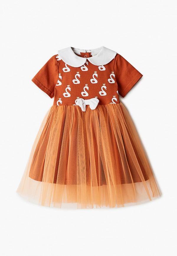 Платья для девочки Trendyco Kids цвет оранжевый