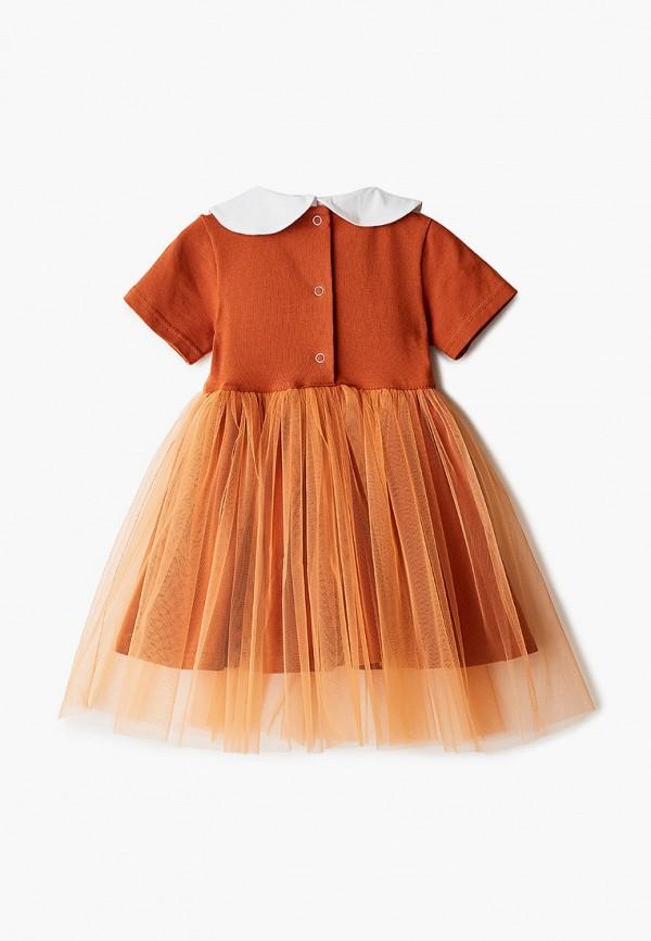 Платья для девочки Trendyco Kids цвет оранжевый  Фото 2