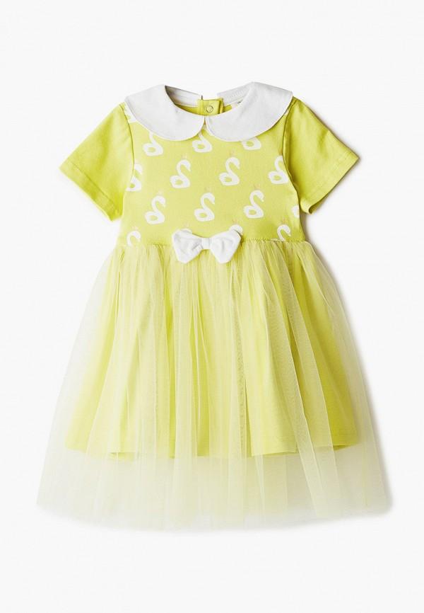 Платья для девочки Trendyco Kids цвет желтый