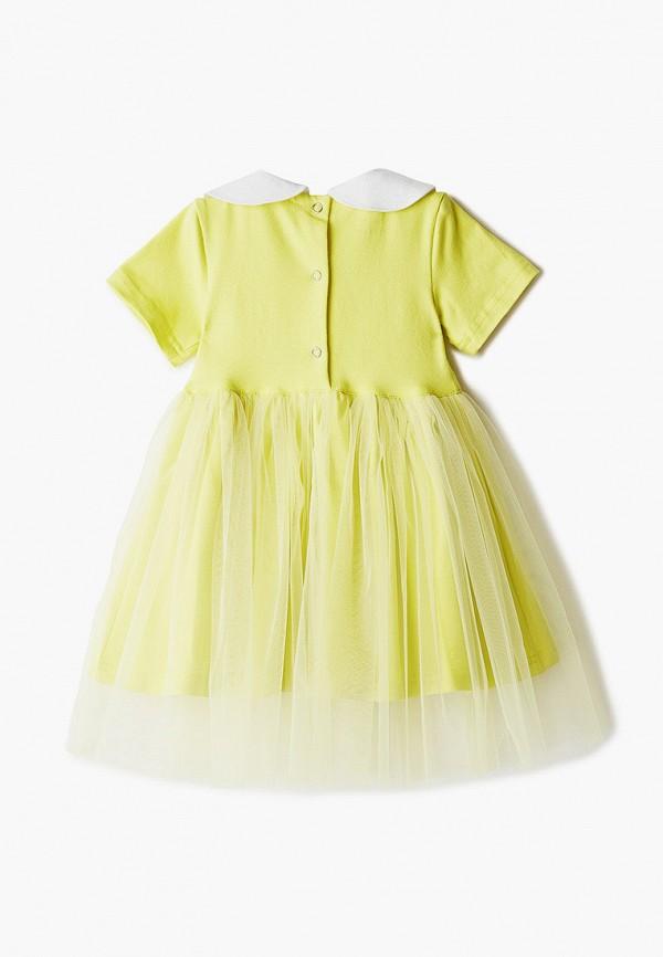 Платья для девочки Trendyco Kids цвет желтый  Фото 2