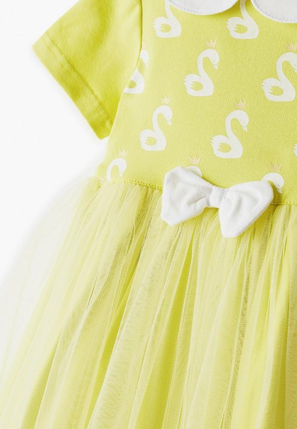 Платья для девочки Trendyco Kids цвет желтый  Фото 3
