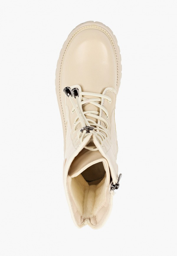 Ботинки для девочки Капитошка цвет бежевый  Фото 4