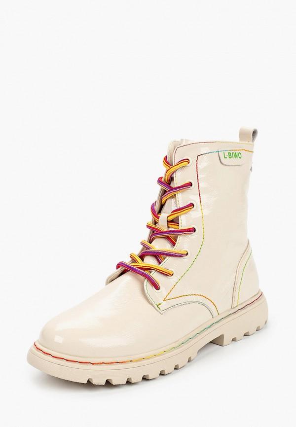 Ботинки для девочки Капитошка цвет бежевый  Фото 2