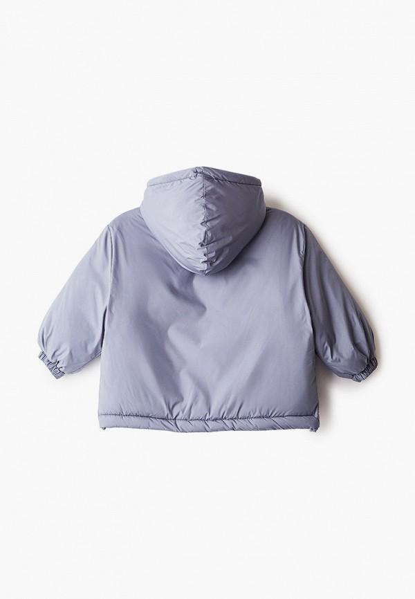 Куртка для девочки утепленная Sela цвет серый  Фото 2