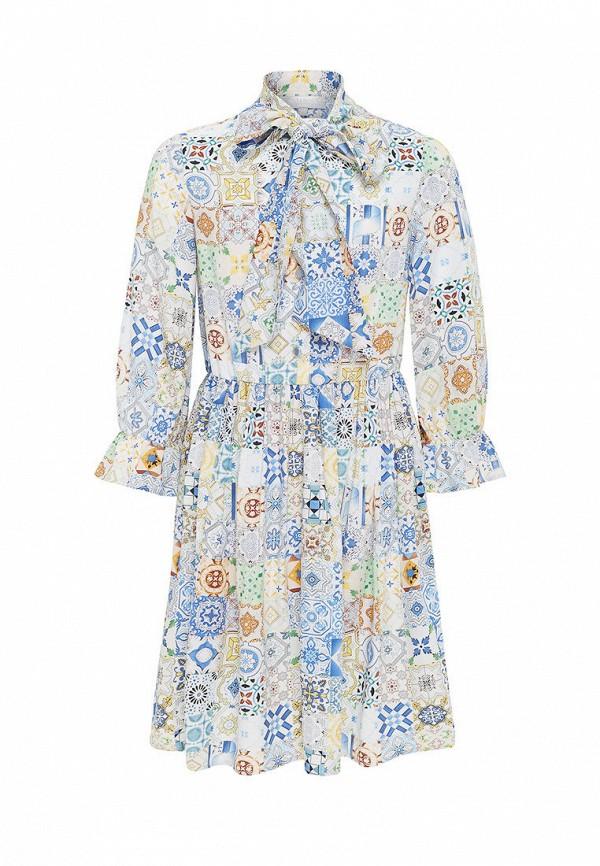 Платья для девочки Smena цвет разноцветный