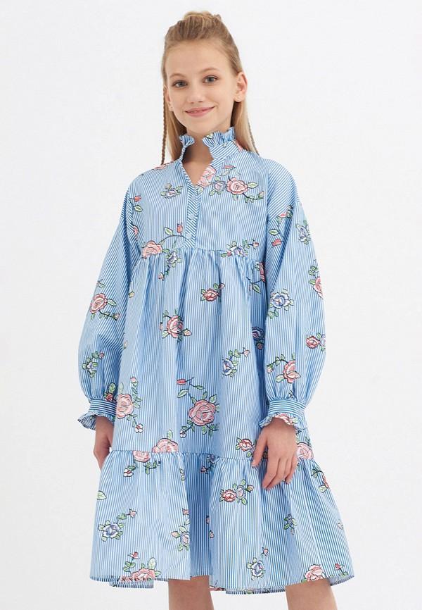 Платья для девочки Smena цвет голубой  Фото 3