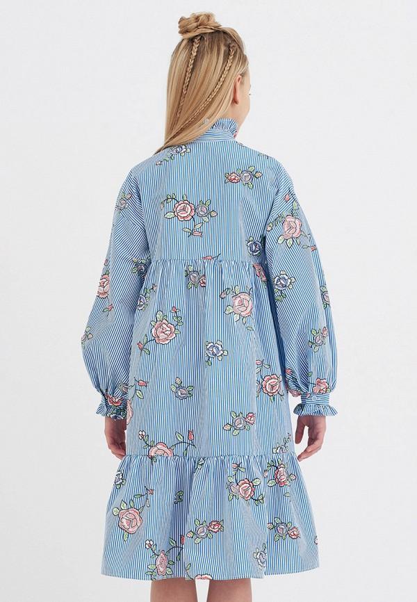 Платья для девочки Smena цвет голубой  Фото 4