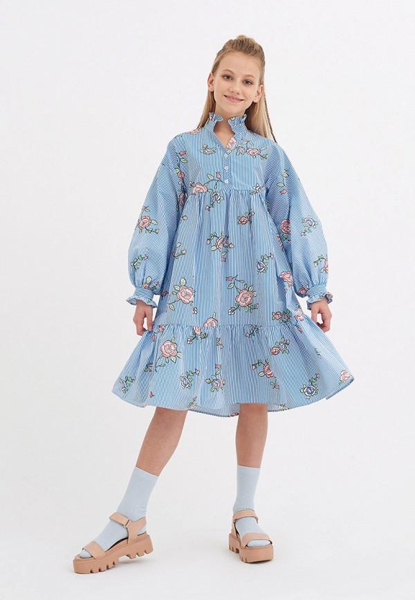 Платья для девочки Smena цвет голубой  Фото 5