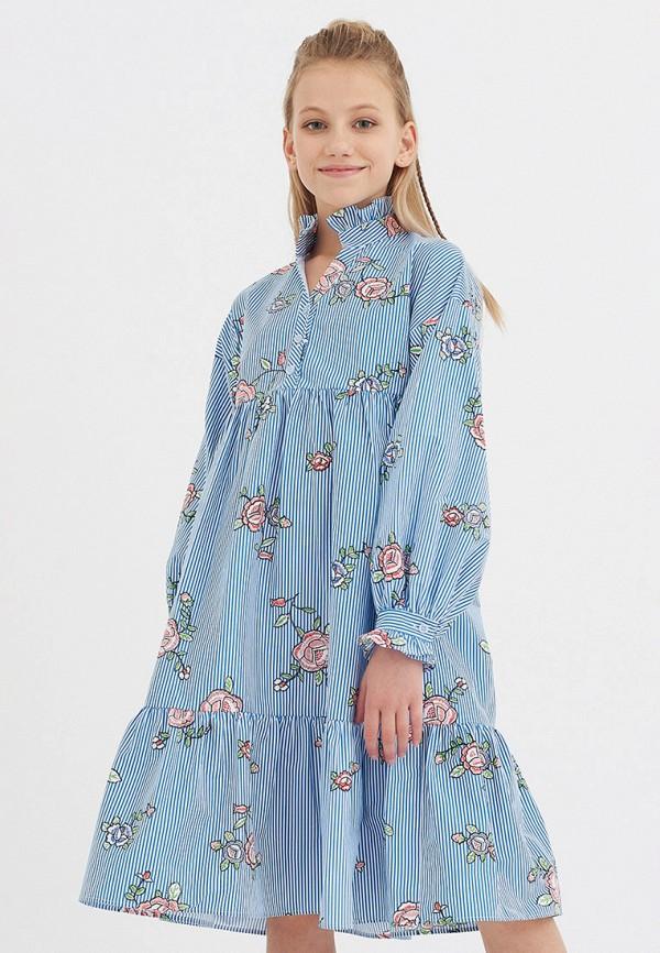 Платья для девочки Smena цвет голубой  Фото 6