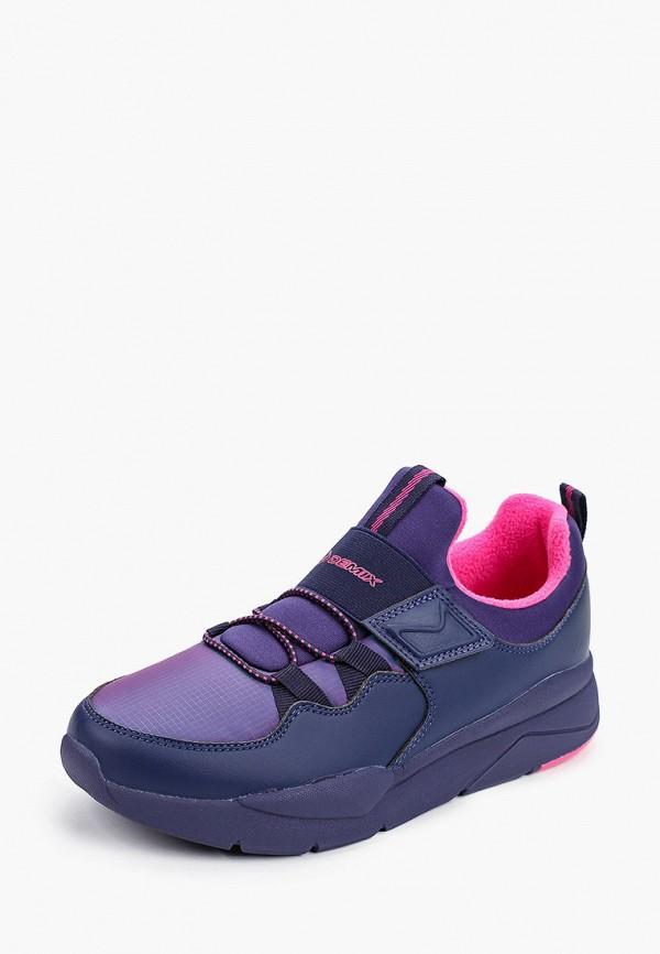 Кроссовки для девочки Demix цвет фиолетовый  Фото 2
