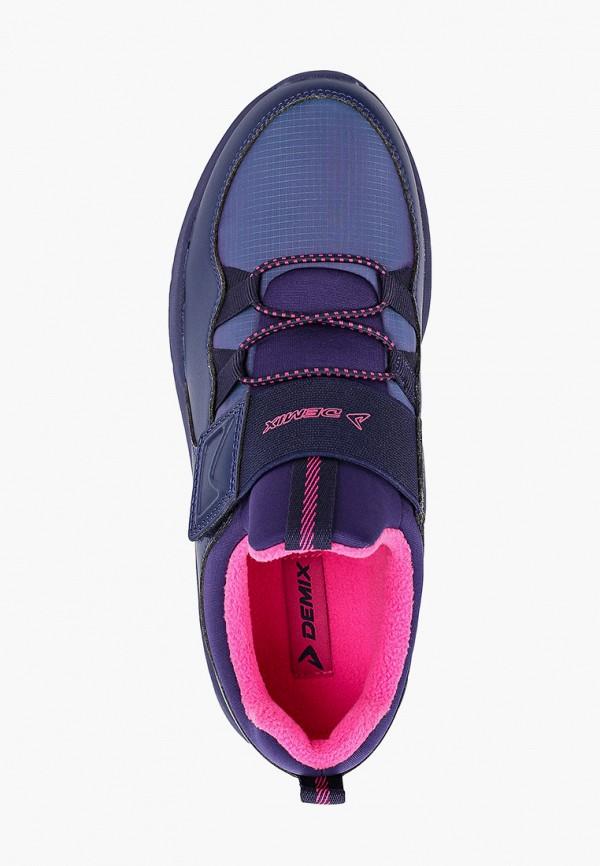 Кроссовки для девочки Demix цвет фиолетовый  Фото 4
