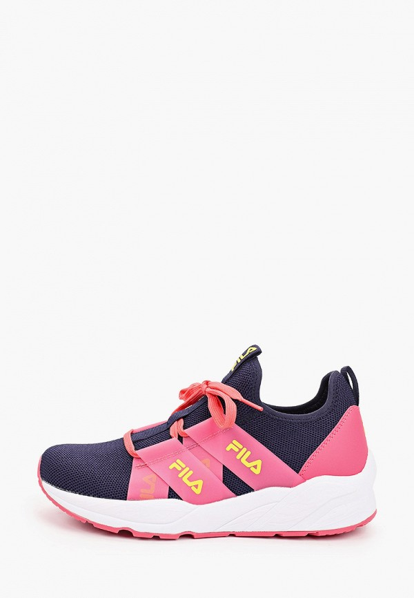 Кроссовки для девочки Fila цвет синий