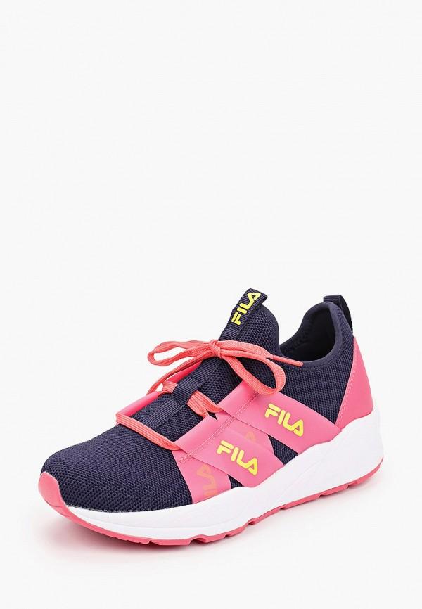 Кроссовки для девочки Fila цвет синий  Фото 2