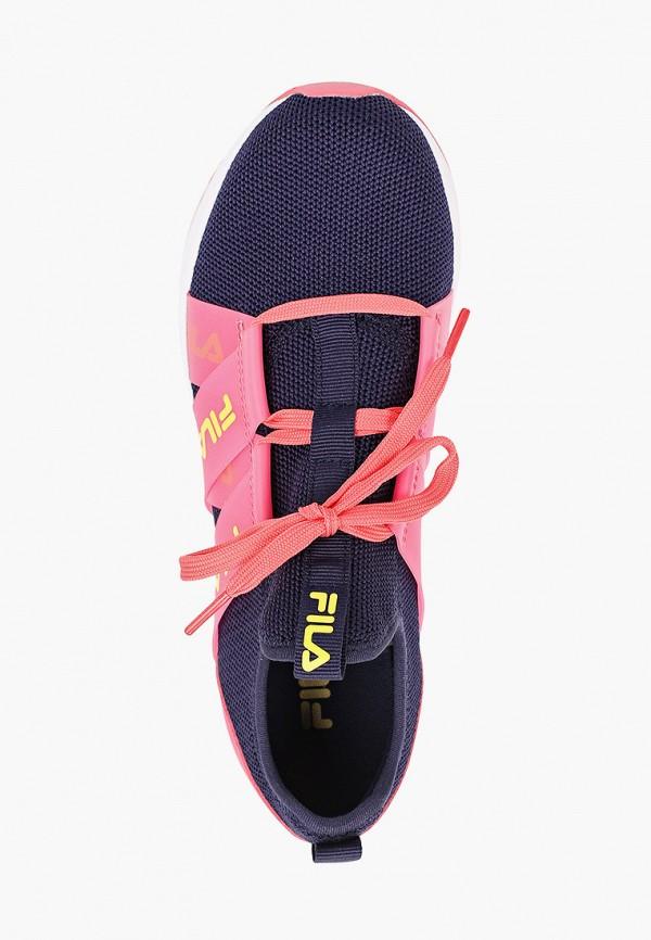 Кроссовки для девочки Fila цвет синий  Фото 4