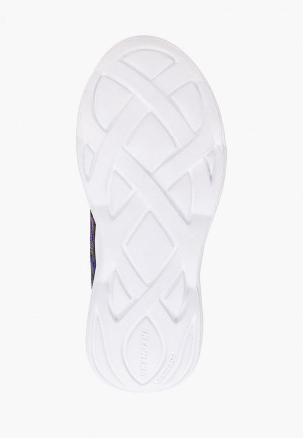 Кроссовки для девочки Skechers цвет черный  Фото 5