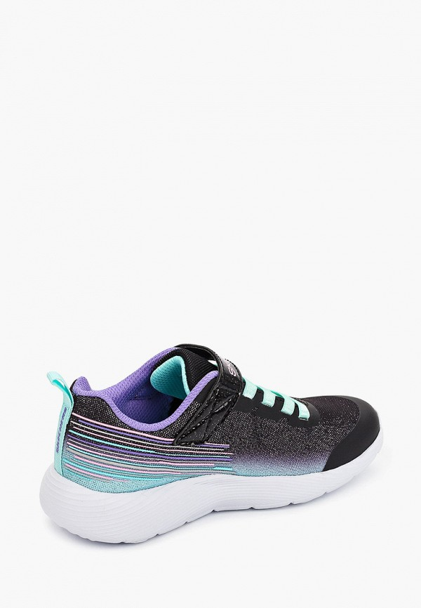 Кроссовки для девочки Skechers цвет черный  Фото 3