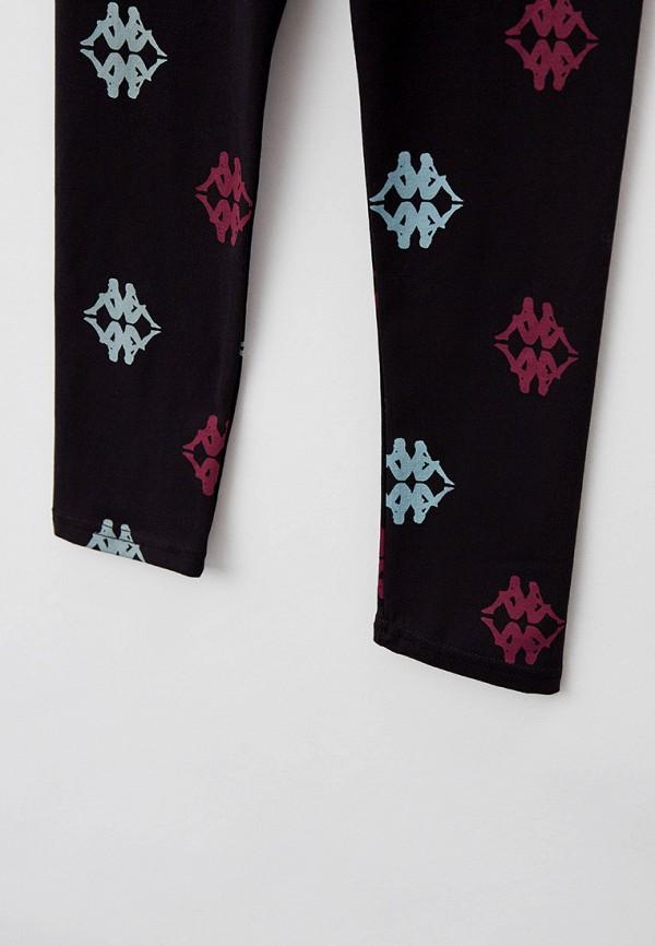 Леггинсы для девочки Kappa цвет черный  Фото 3