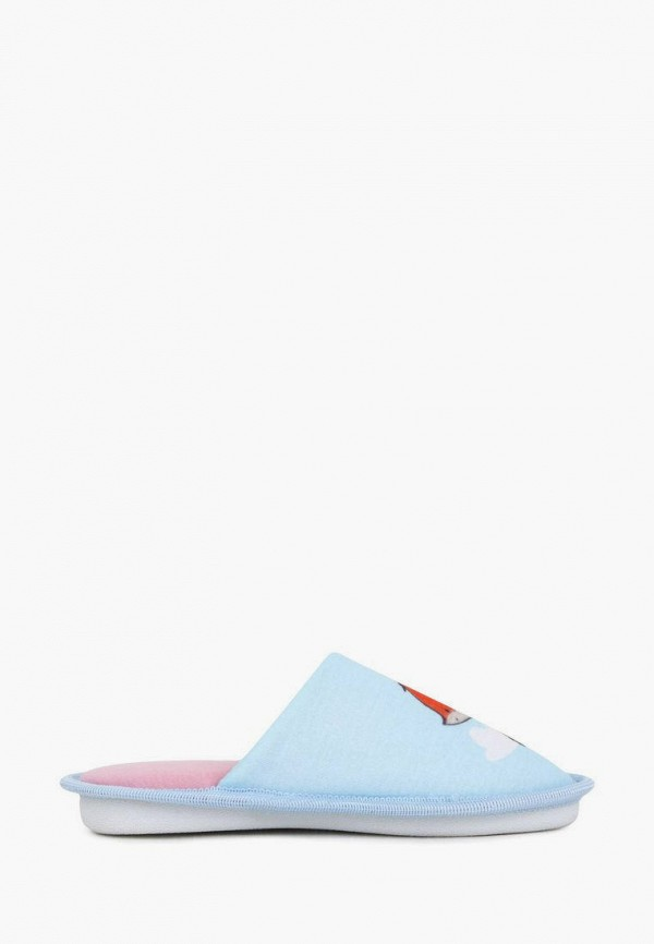 Тапочки для девочки T.Taccardi цвет голубой  Фото 7