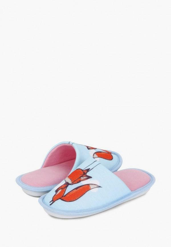 Тапочки для девочки T.Taccardi цвет голубой  Фото 8