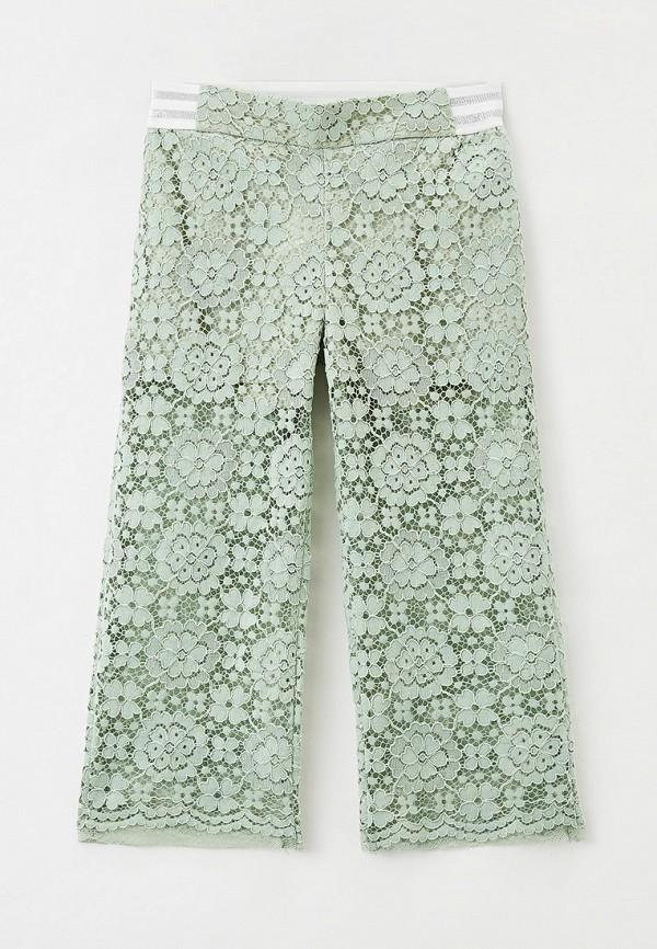 брюки smena для девочки, зеленые