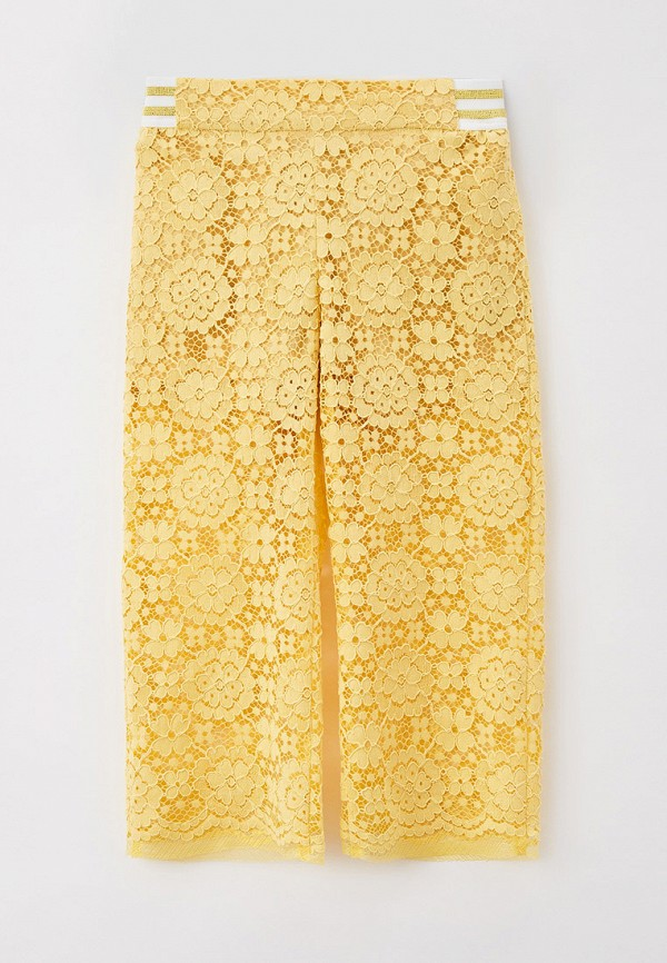 брюки smena для девочки, желтые
