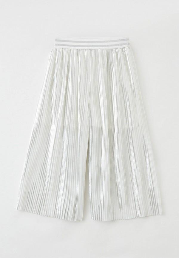 брюки smena для девочки, белые
