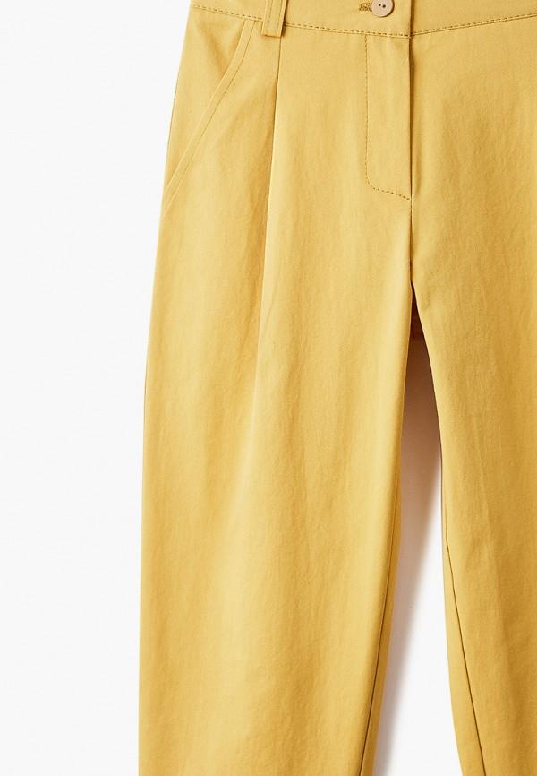 Брюки для девочки Smena цвет желтый  Фото 3