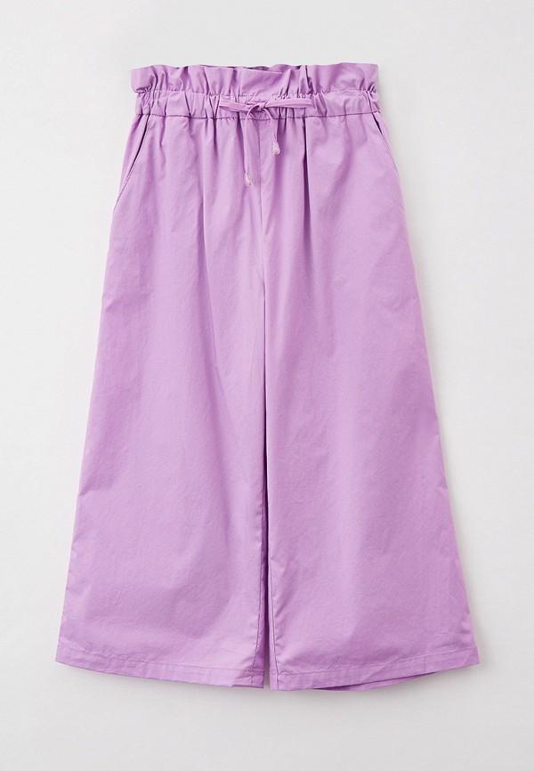 брюки smena для девочки, фиолетовые