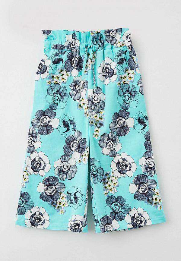 брюки smena для девочки, бирюзовые