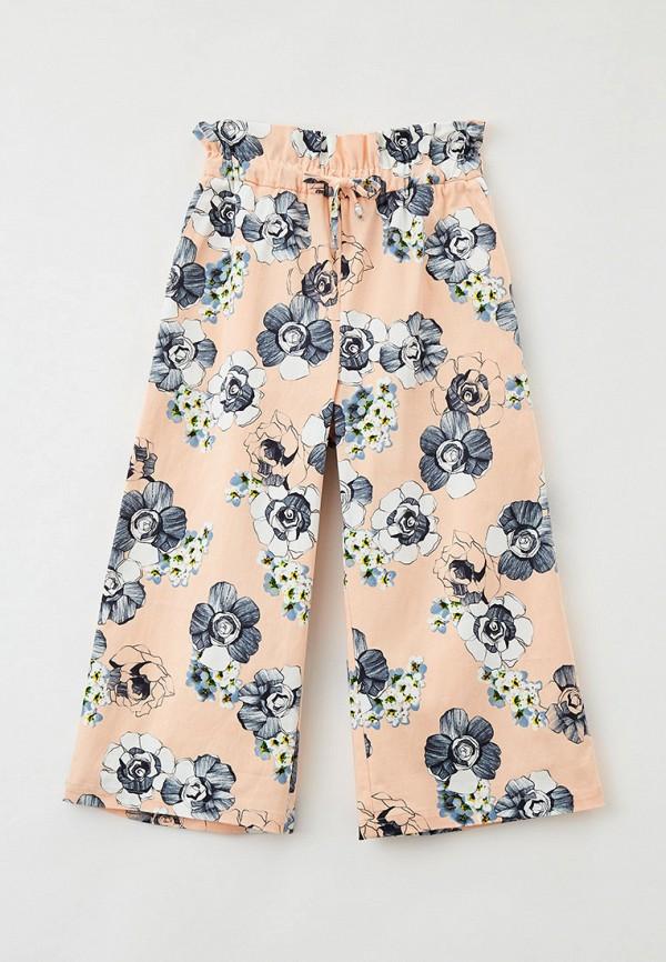 брюки smena для девочки, розовые