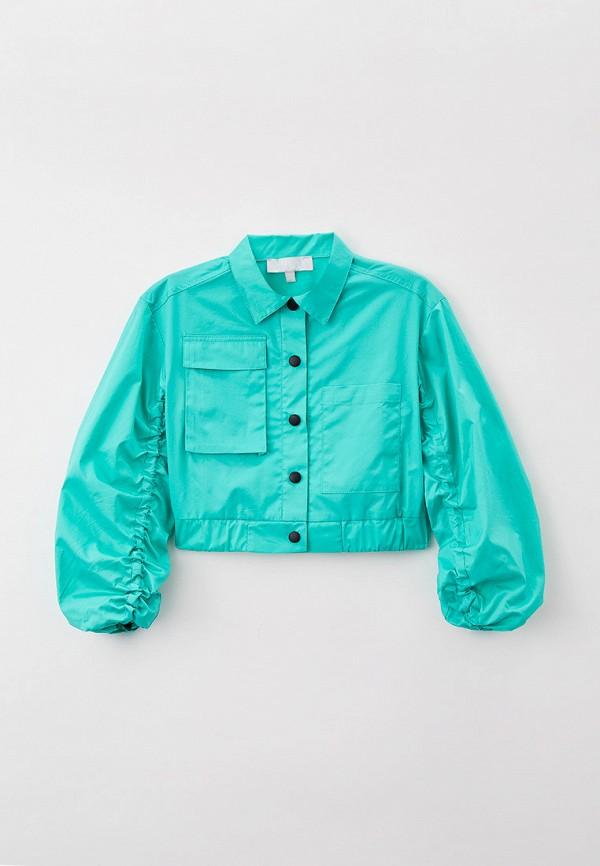 Куртка Smena бирюзового цвета