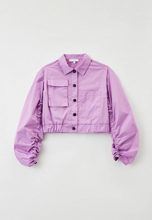 Куртка Smena фиолетового цвета