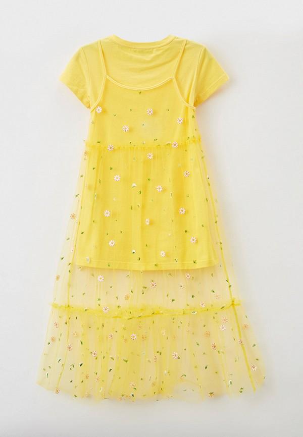 Платья 2 шт. Smena цвет желтый  Фото 2